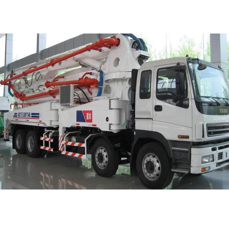 concrete pump truck cleaning effect the performance so great