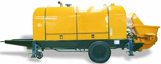 HBT60S1816-110 Trailer Concrete Pump