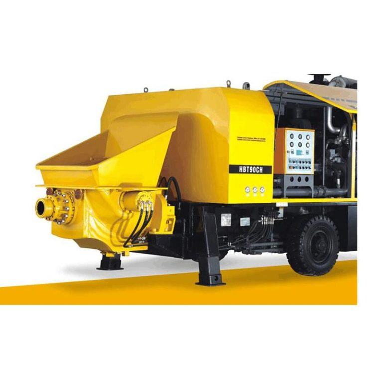 HBT80S1813-110 Trailer Concrete Pump