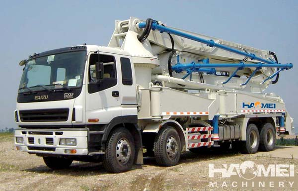 new concrete pump truck Common problems and solutions