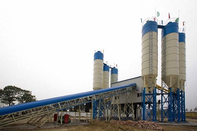 HZS120 Concrete Batching Plant