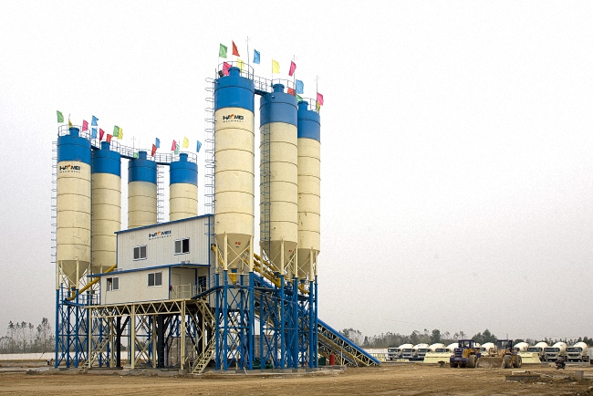 HZS150 Concrete Batching Plant
