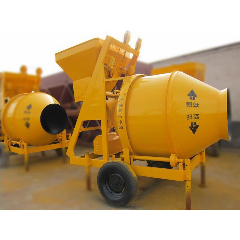 concrete mixer operation specification