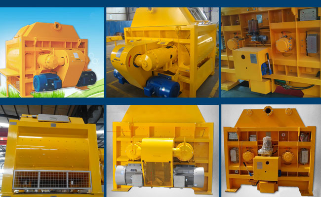 maintenance of concrete mixer machine