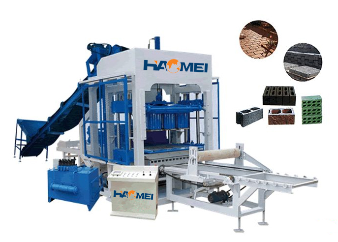 QT4-15 Fire-free Brick Making Machine