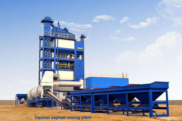 Features of mobile asphalt mixing plant