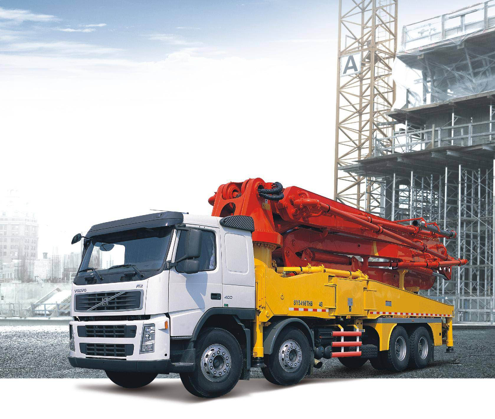 Operation procedures of concrete pump truck for sale