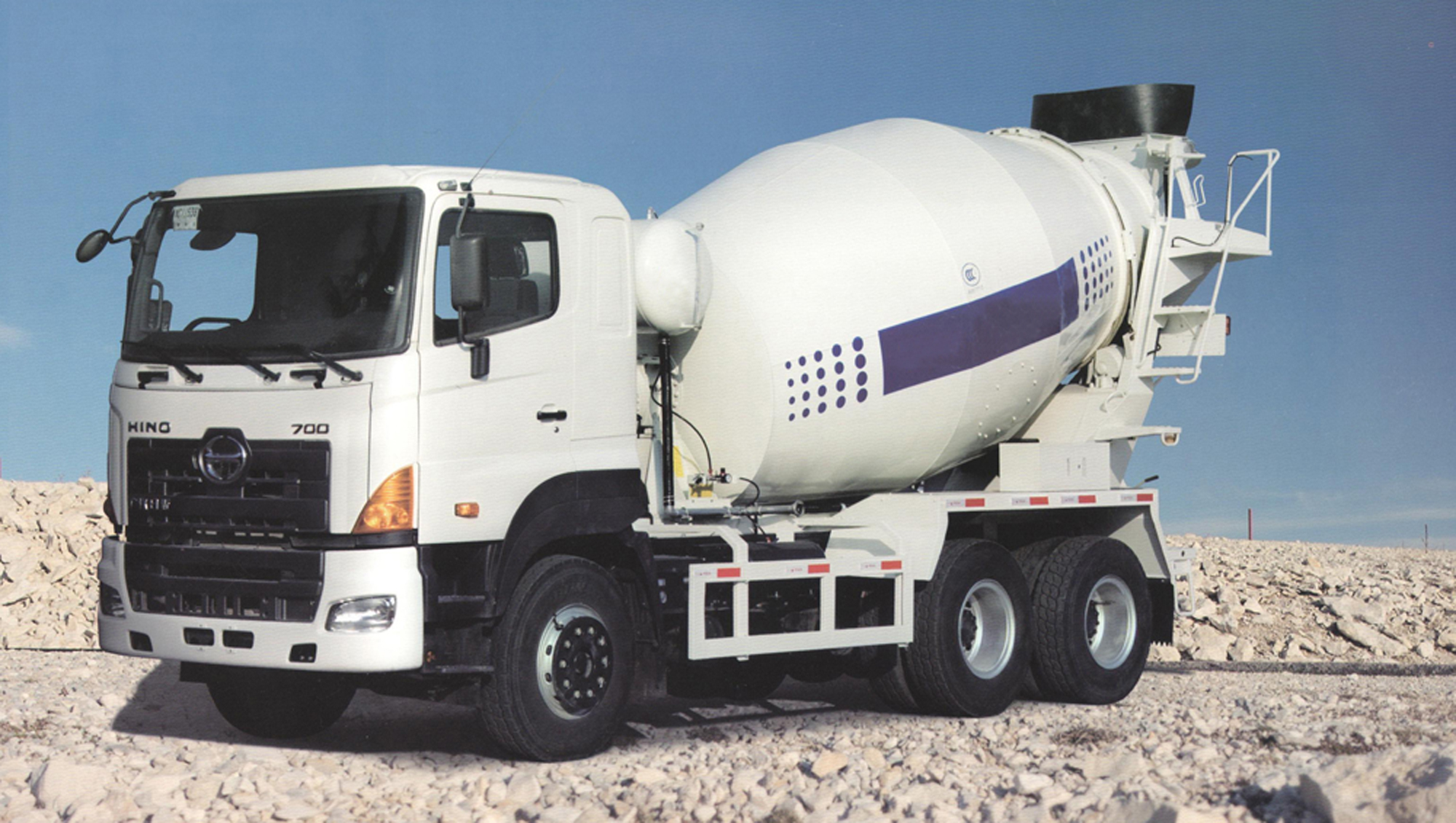 Concrete mixer truck specifications of operation
