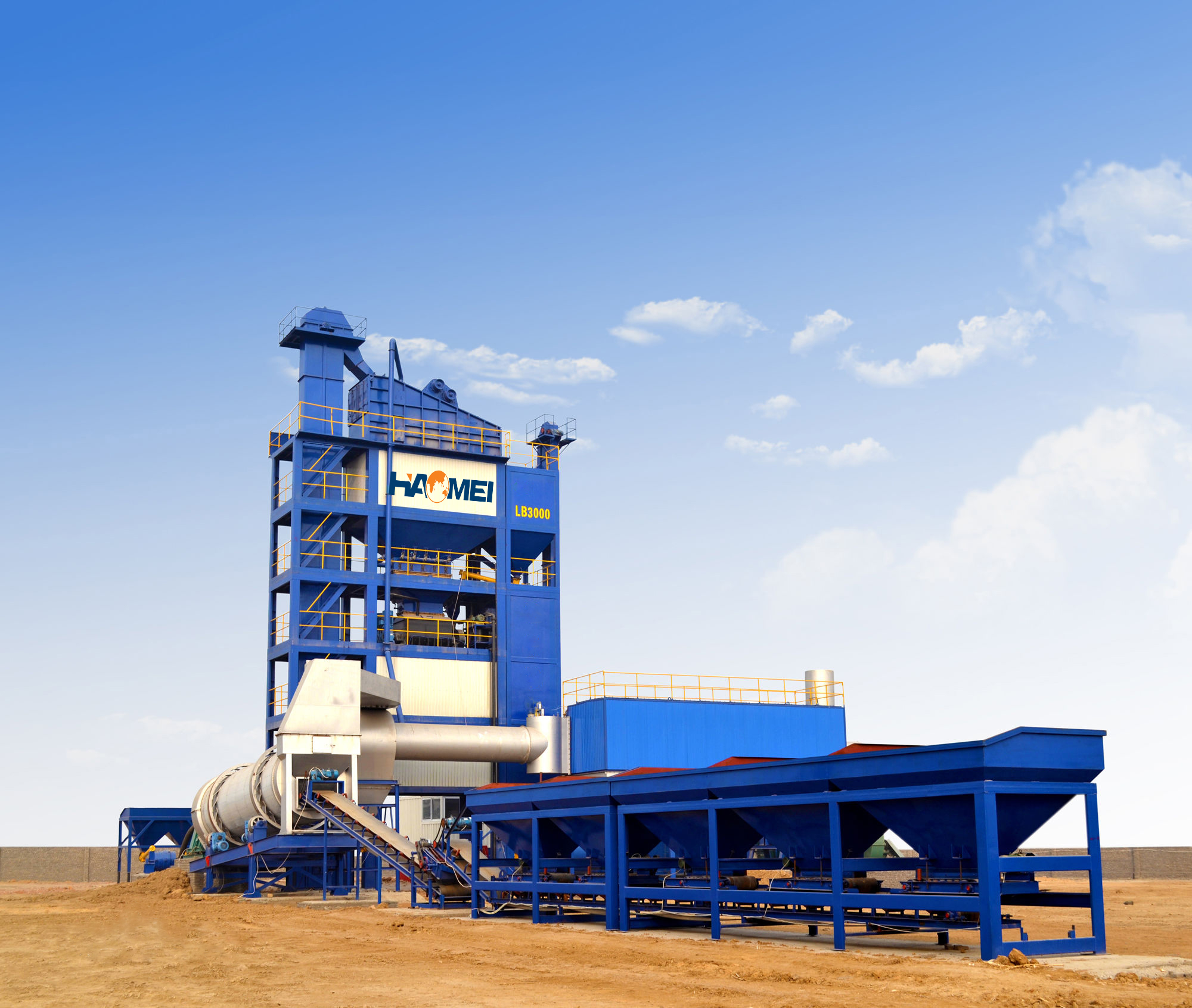 How to select qualified asphalt mixing plant