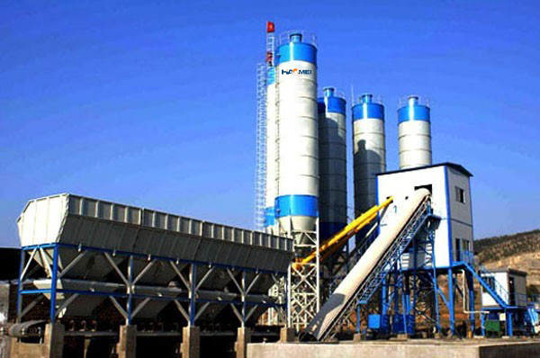 Introduction of Haomei HZS series stationary concrete batching plant