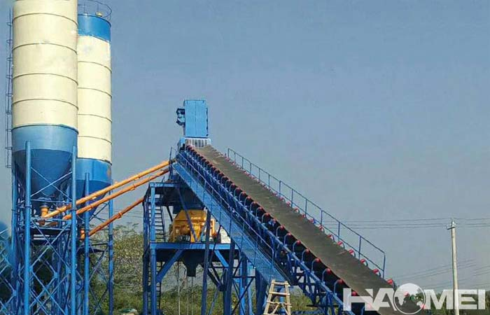 concrete mixing plant factory