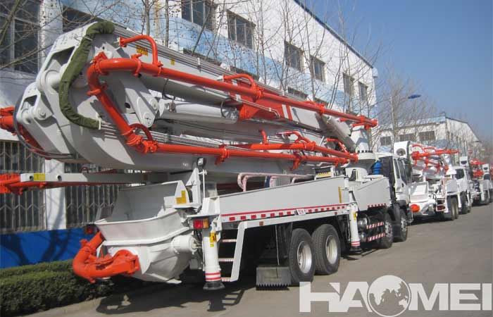 Check list of concrete pump trucks for sale