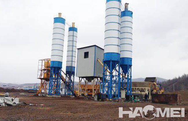 concrete batching plants factory