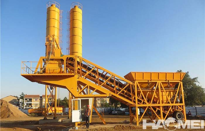 mobile concrete batching plant FACTORY