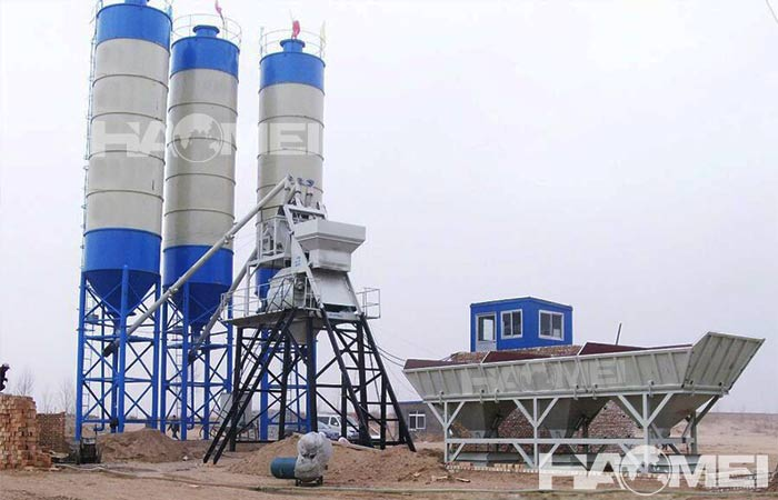 bucket type concrete batching plant
