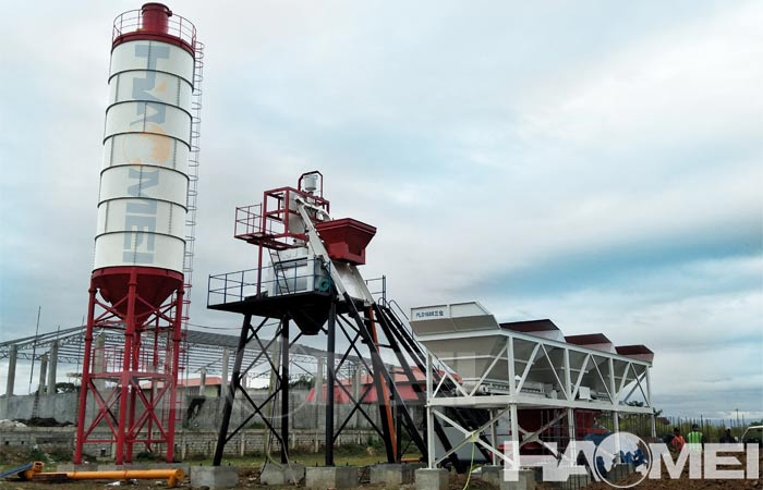 hzs concrete plants