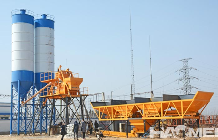 small concrete batching plant for sale