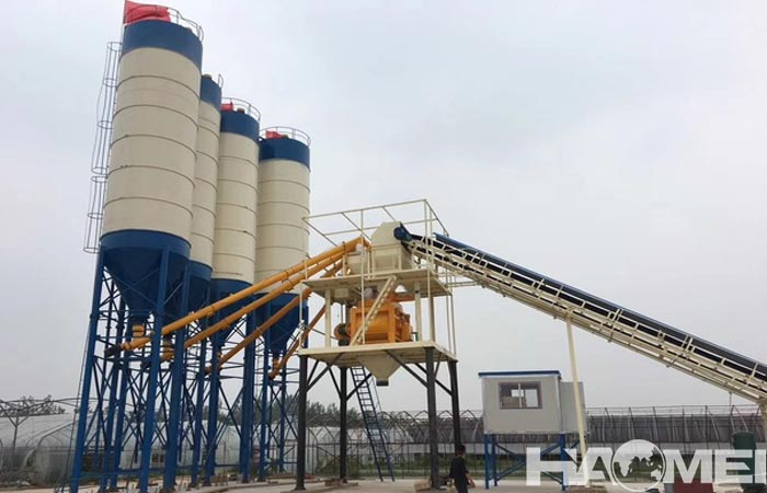 ready mix concrete batching plant cost
