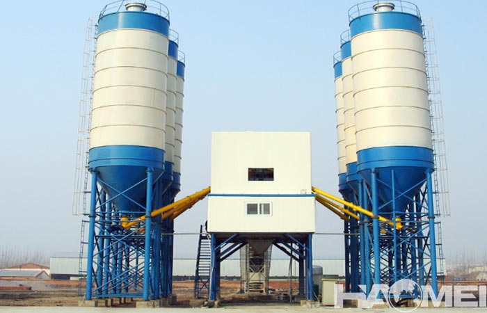 batching plant for ready mixed concrete