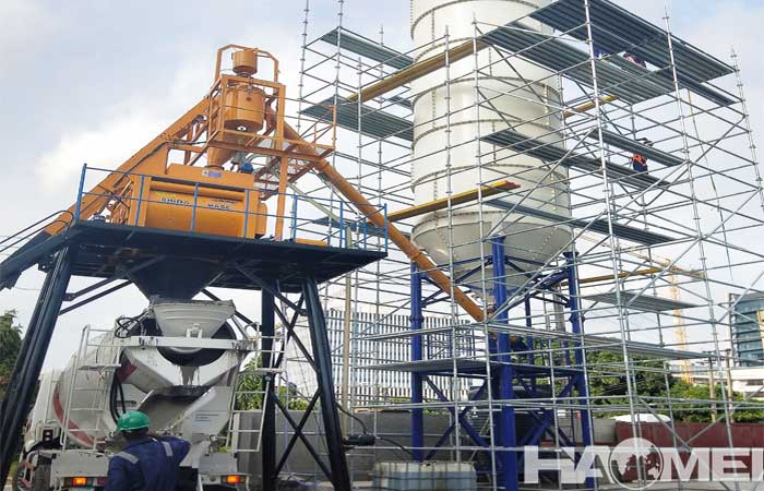 concrete batching plant in nigeria