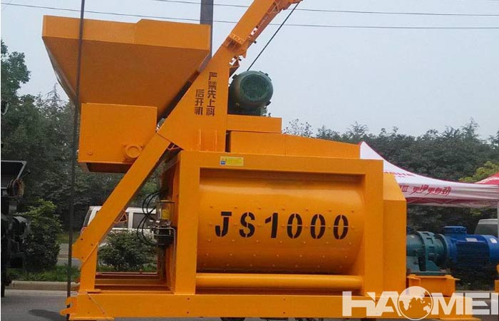Twin shaft concrete mixer price south africa