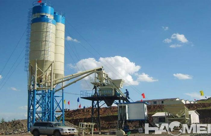 mini concrete batch plant for sale