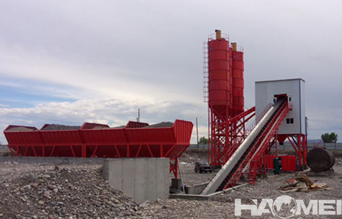 Modular concrete plant for sale