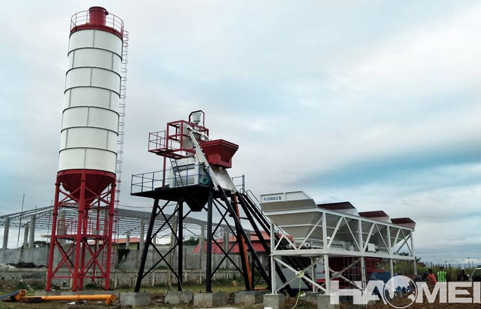 small concrete batch plants supplier