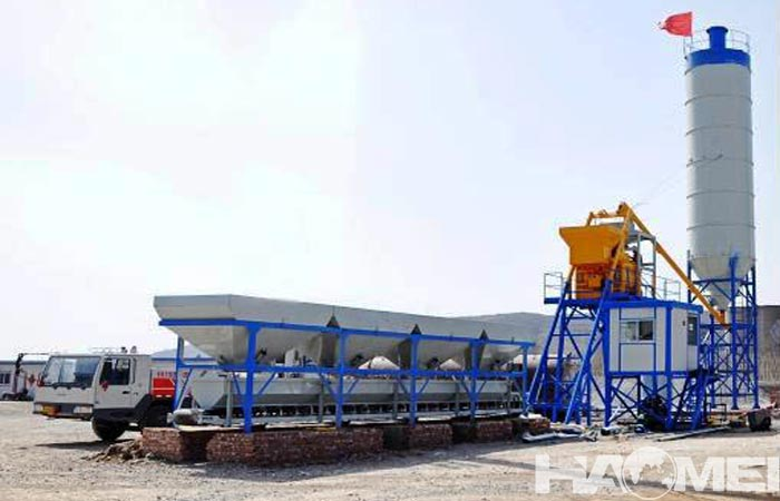 mini ready mix concrete plant for sale