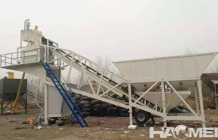mobile precast concrete batch plants
