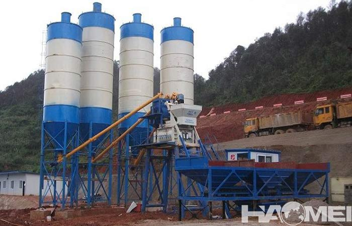 ready mix concrete batching plant manufacturers
