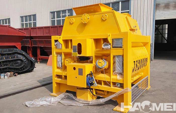 concrete mixer maintenance