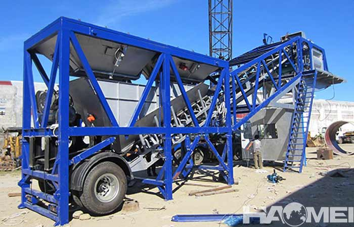 How much does it cost to invest in a mobile concrete mixing plant?