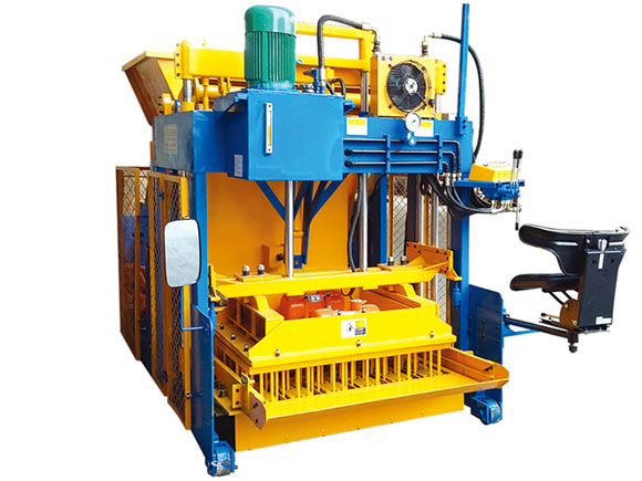 egg layer block machine