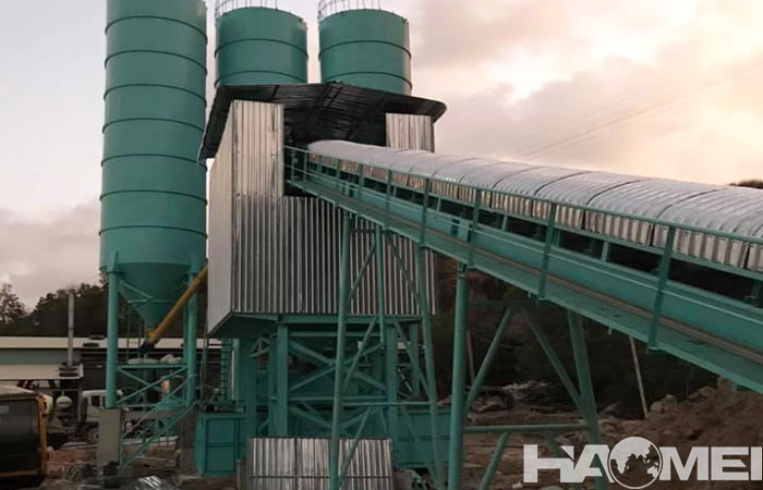concrete mixture plant