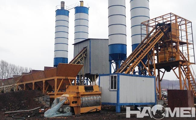 concrete batching mixing plant manufacturers
