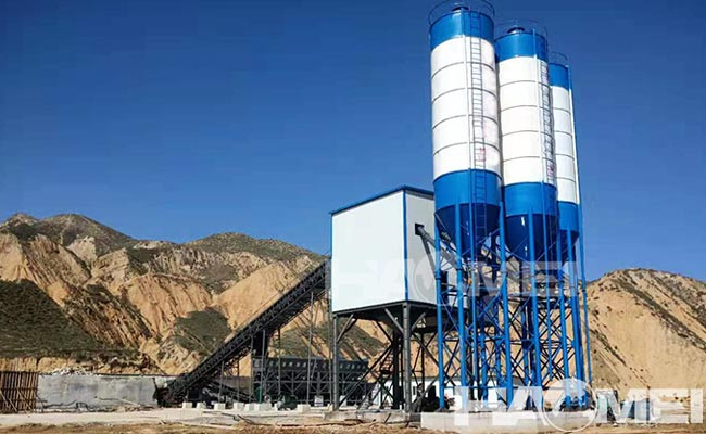 High accuracy concrete mixing equipment
