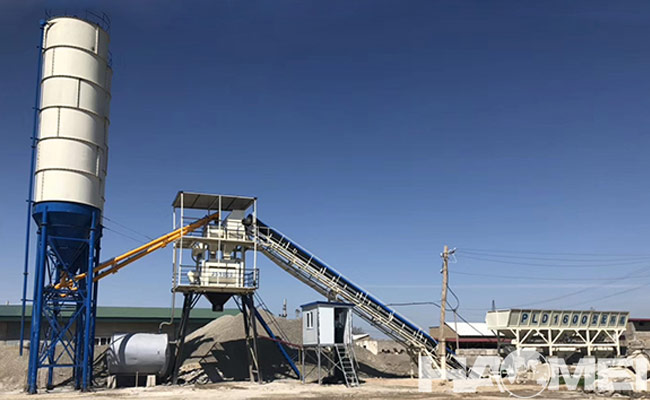 concrete batching plant equipment