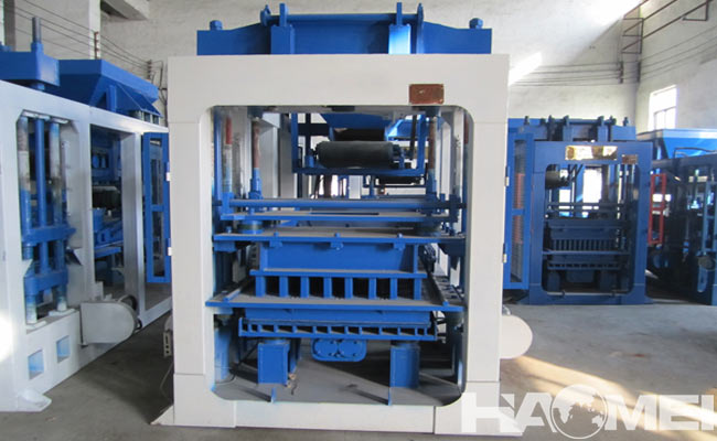 concrete block maker machine