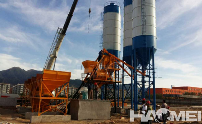 concrete batching plant 1.5m3