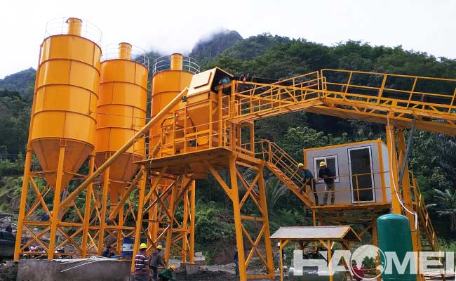 Ready Mix Concrete Manufacturing Plant