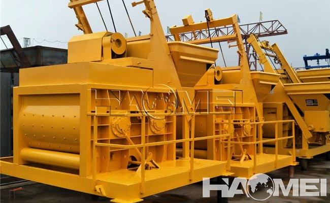 concrete twin screw mixer