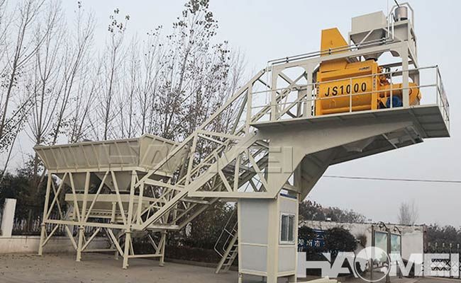 Advanced Mobile Concrete Batch Plants