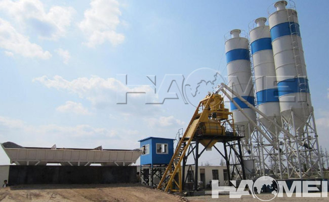 concrete batching plant specification