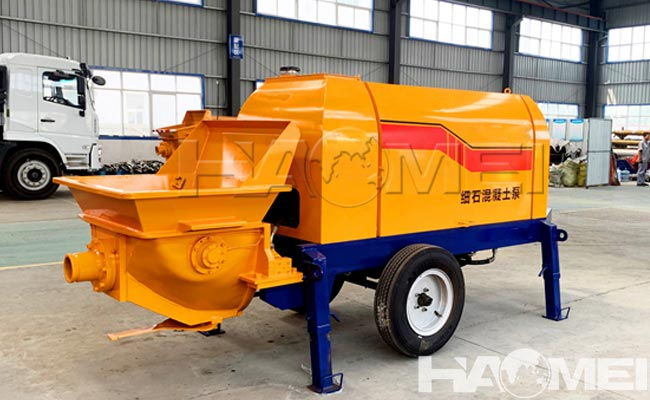concrete pump trailers