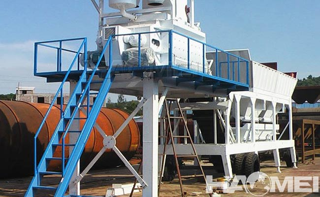 mobile batching plant indonesia